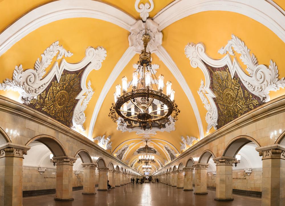 Komsomolskaya, Moscow, Russia