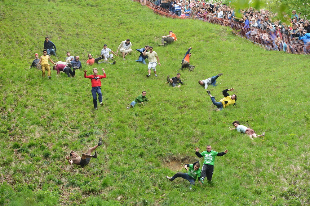 Try Cheese Rolling, United Kingdom