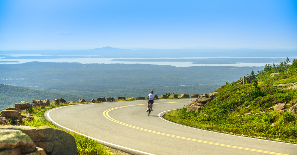 Acadia Grand Tour Bike Route