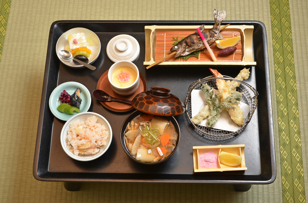 Feast on a Kaiseki Meal on Luxury Japan Tours