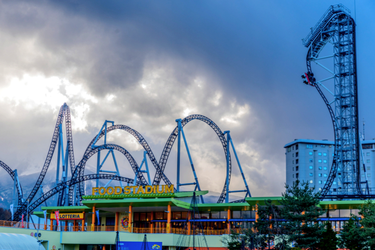 the adrenaline rush amusement parks give