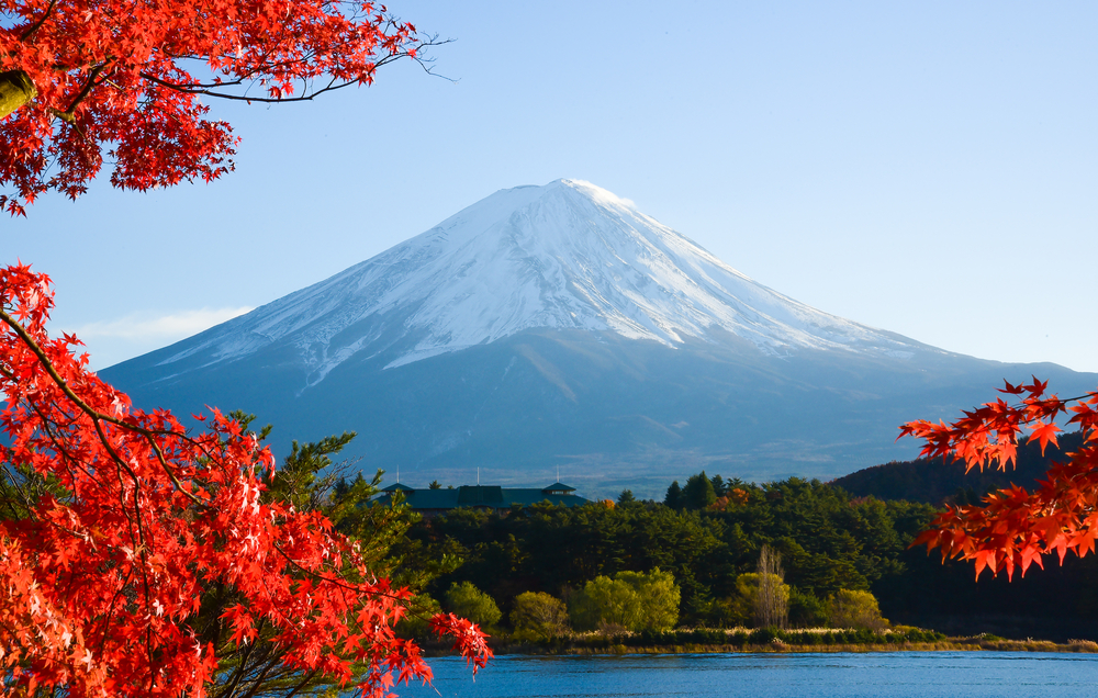 Mount Fuji and the Japanese Alps