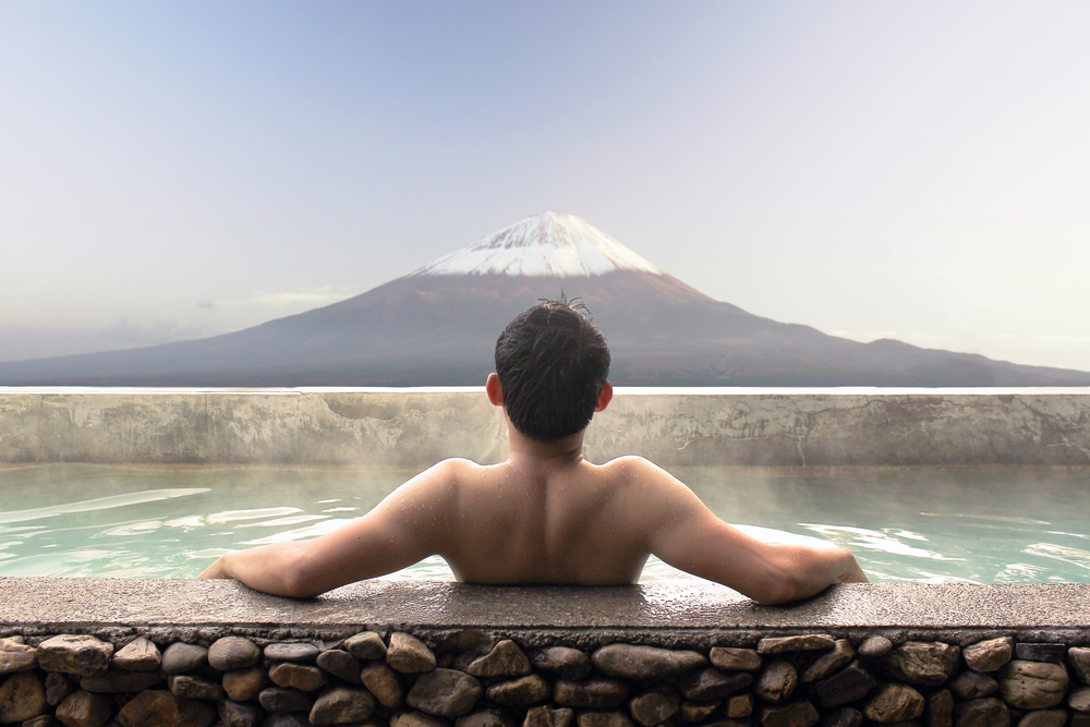 Soak in a Hot Spring Bath