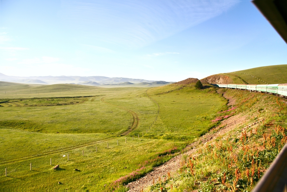 By Train Ride the Trans-Siberian Railway