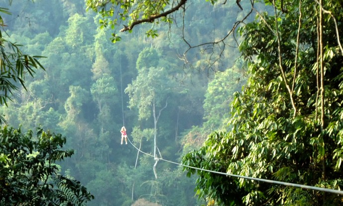 By Zip-Line- Speed Through the Costa Rican Jungle