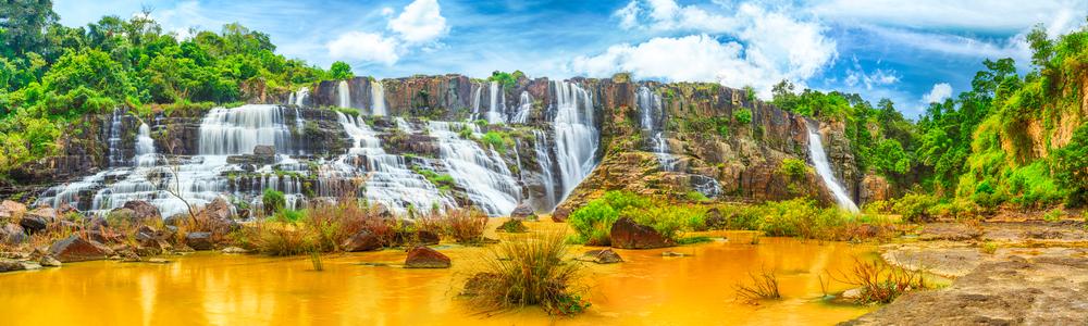 Central Highlands waterfalls vietnam