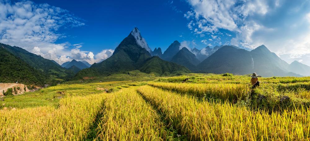 Fan Si Pan - mountainous north