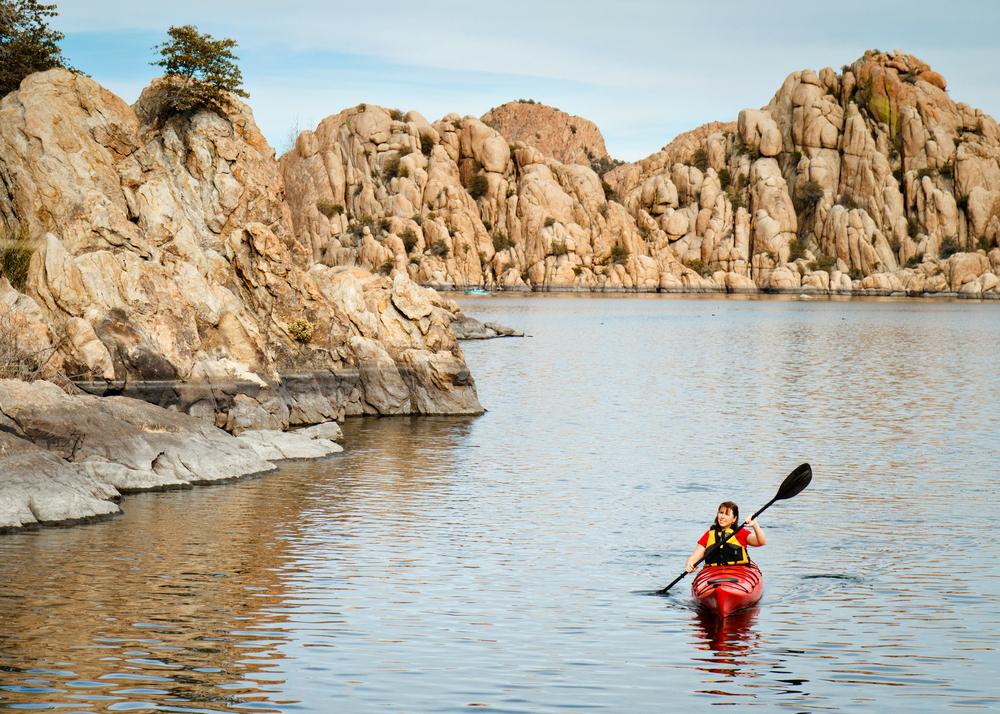 Kayak Watson Lake Park