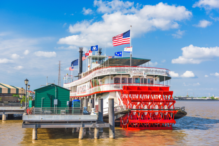 Steamboat Cruise on the Mississippi River