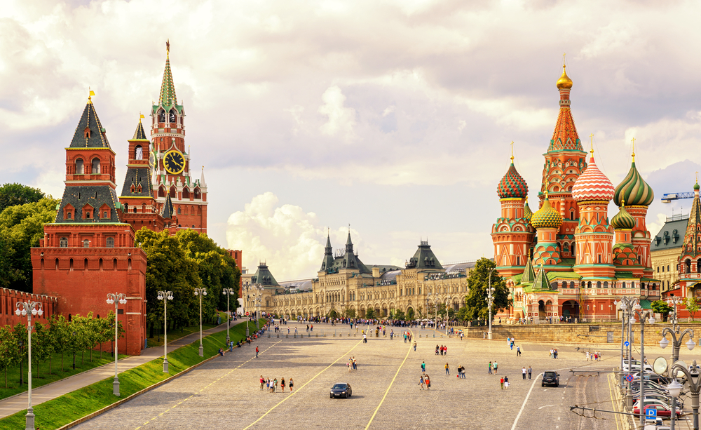 #1 The Kremlin and Red Square