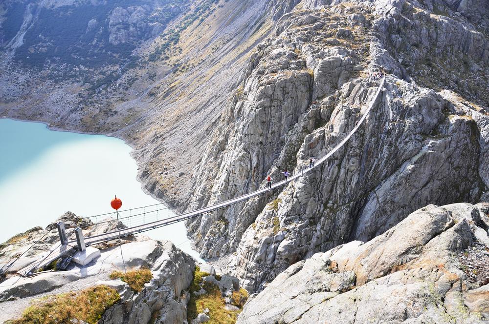 #2 Trift Bridge, Swiss Alps