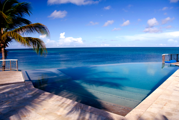 infinity pool-jumby bay