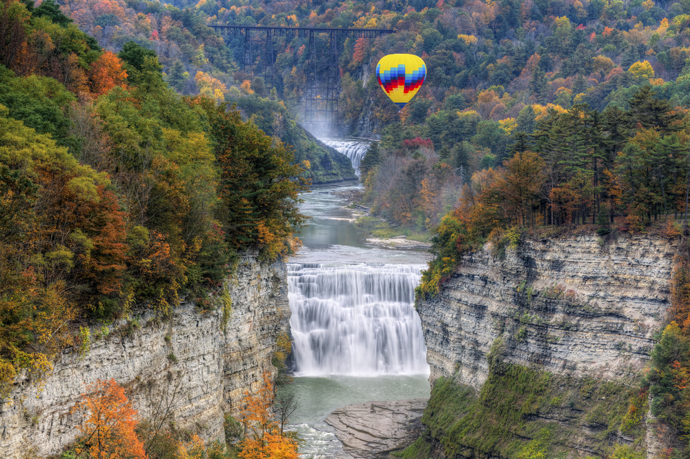 #10 Letchworth State Park, New York