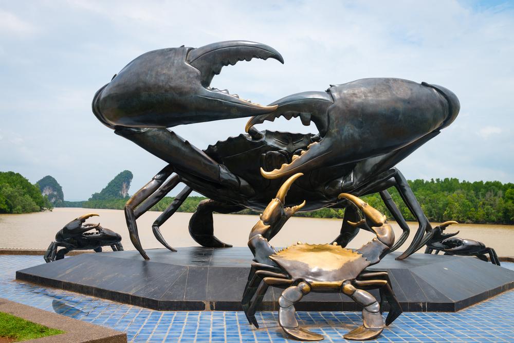 krabi town crabs
