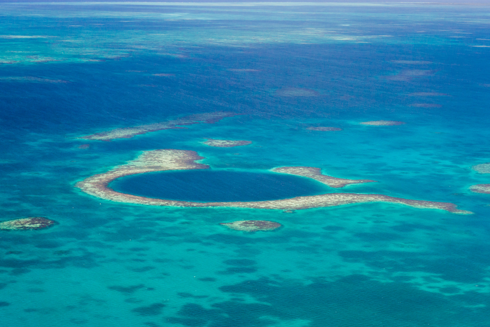 #5 The Great Blue Hole, Belize