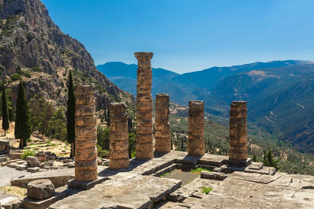 17. Sanctuary of Apollo, Greece