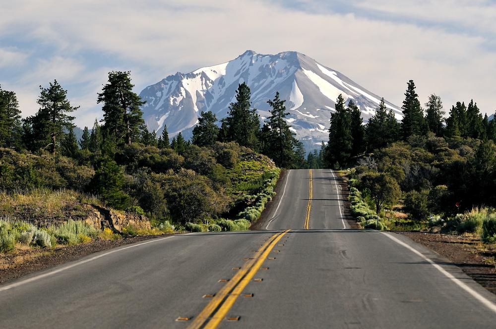 20. Mount Shasta, California