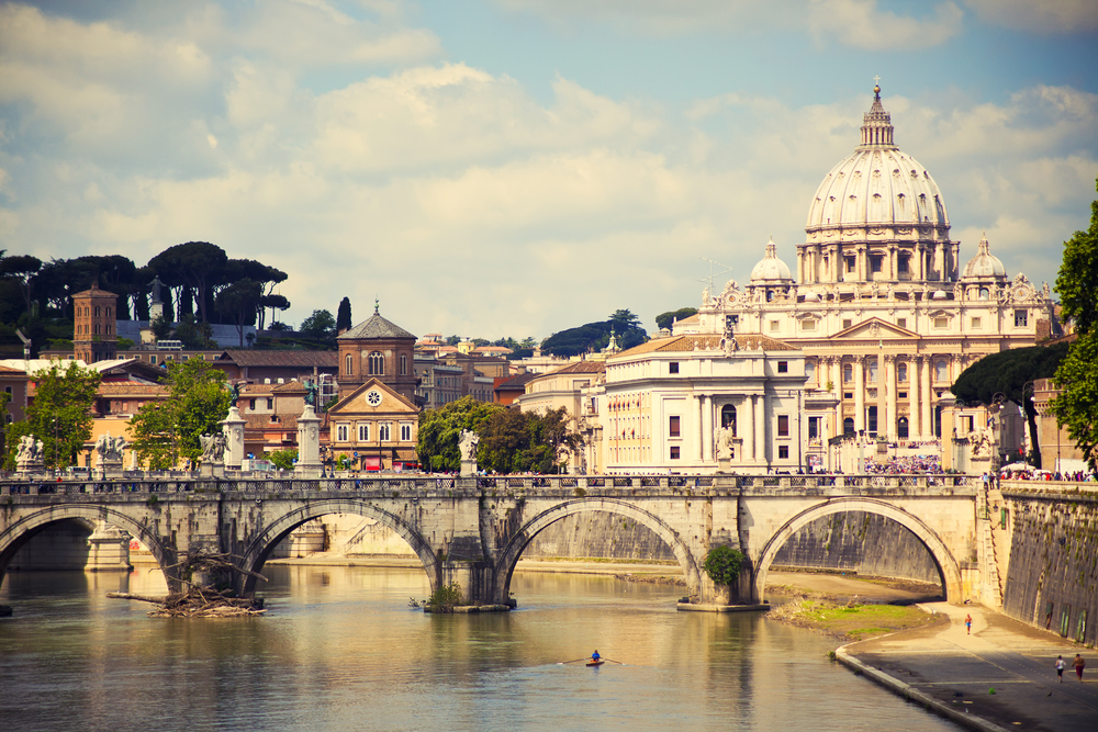 4. St Peter's, Vatican City, Italy