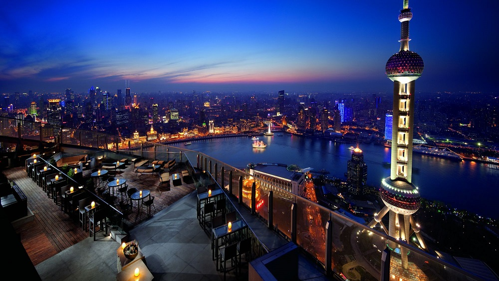 1. Flair, The Ritz Carlton || Shanghai, China