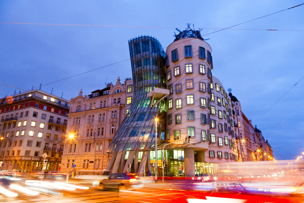 10. Dancing House, Prague
