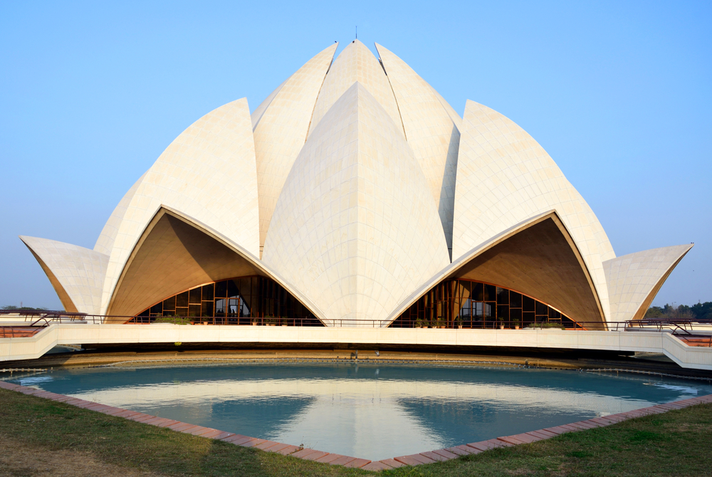 11. Lotus Temple, New Delhi, India