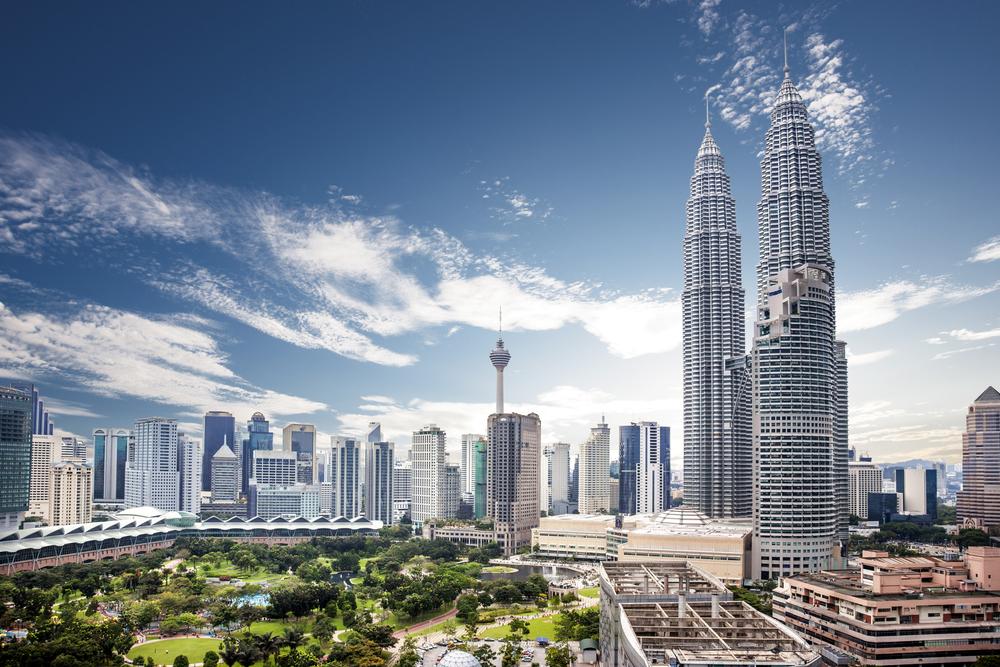 13. Petronas Towers, Kuala Lumpur, Malaysia