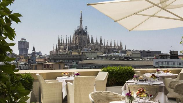 15. Milano Terrace, Boscolo Hotel || Milan, Italy