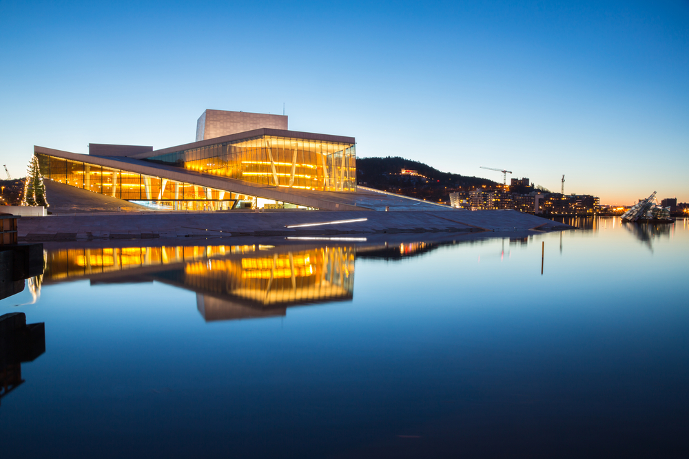 17. Oslo Opera House, Oslo, Norway