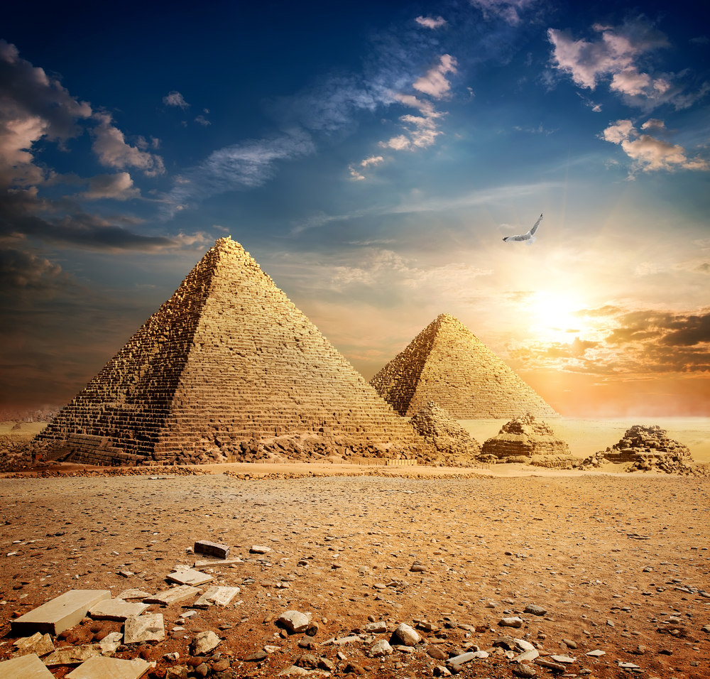 19. The Pyramids Of Giza