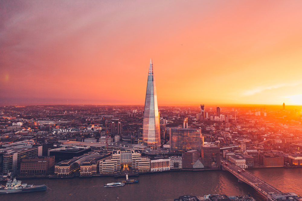 2. The Shard, London, UK
