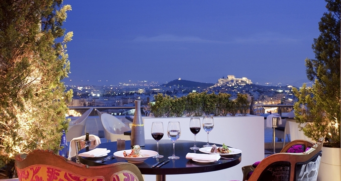 20. The Galaxy Bar, Hilton Hotel || Athens, Greece