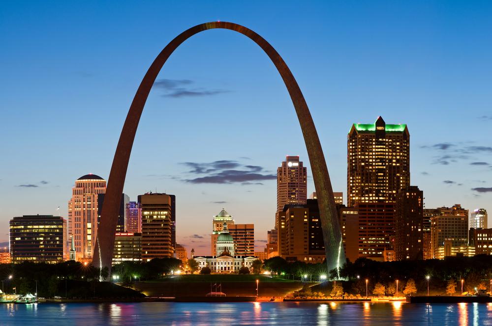 21. Gateway Arch, St Louis, Missouri