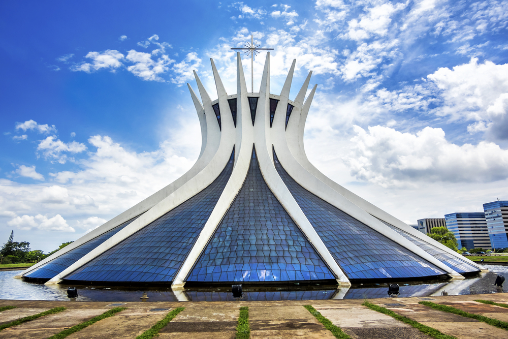 22. Cathedral of Brasília