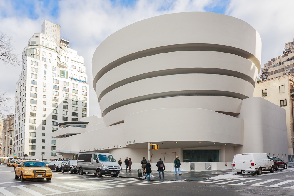 26. The Guggenheim Museum, New York, US