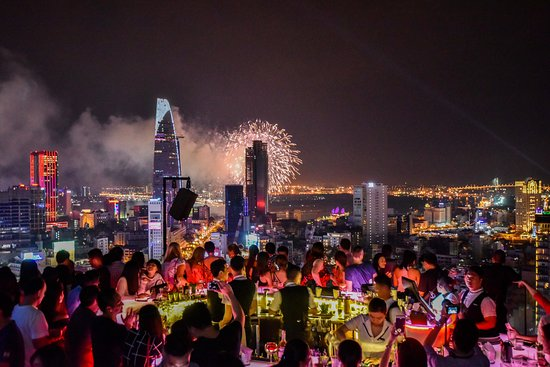 28. Chill Sky Bar, AB Tower || Ho Chi Minh City, Vietnam