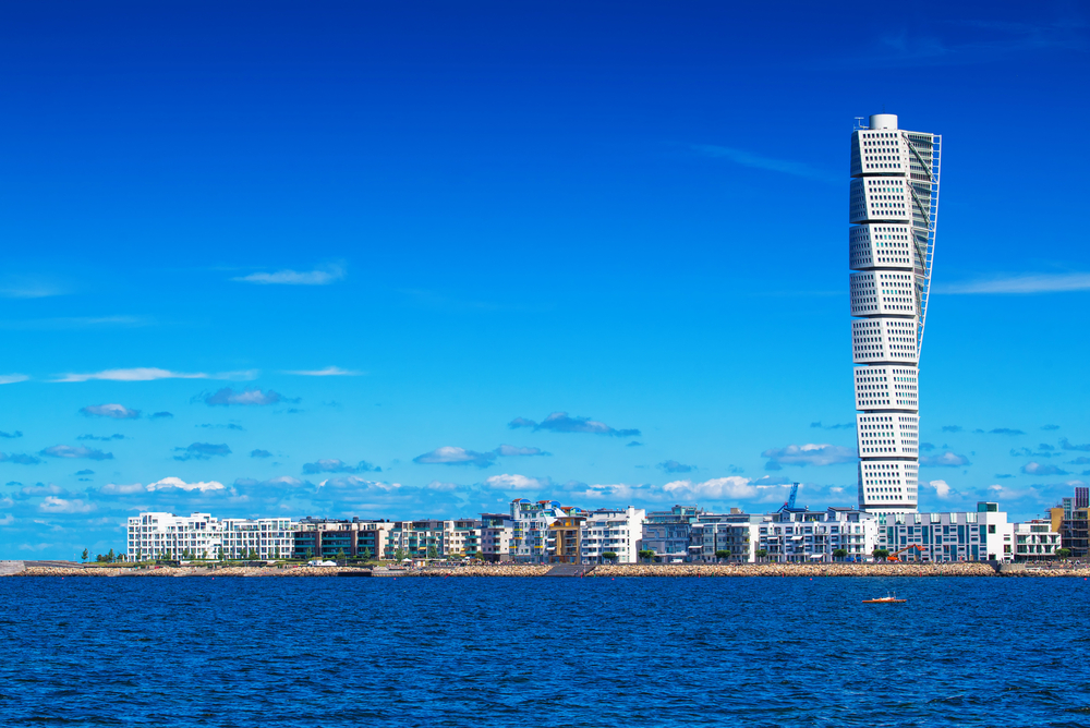 28. The Turning Torso, Malmö, Sweden