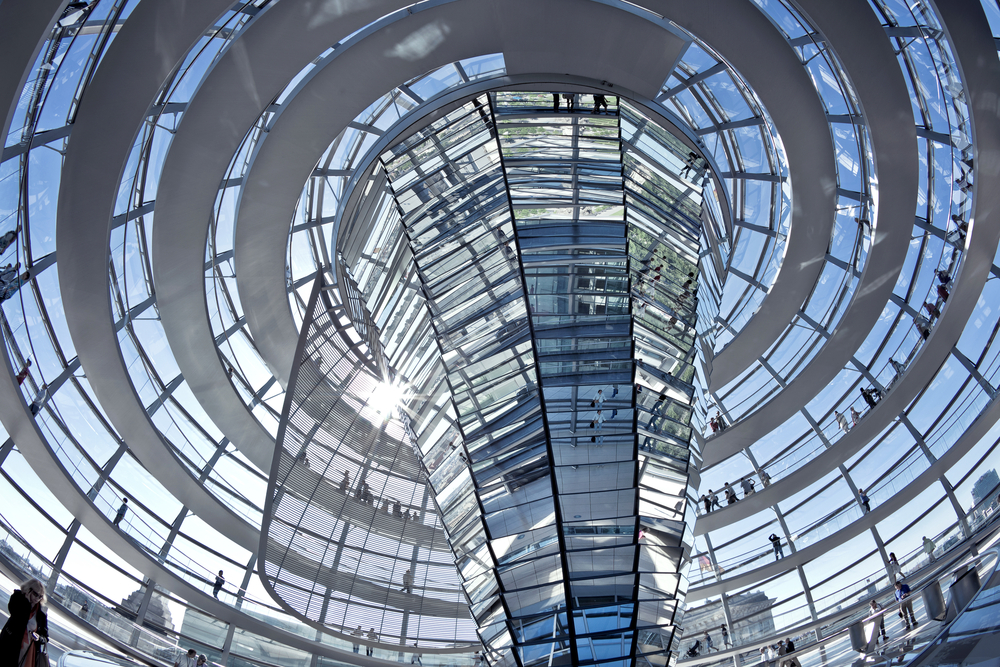 30. The Reichstag Dome, Berlin, Germany