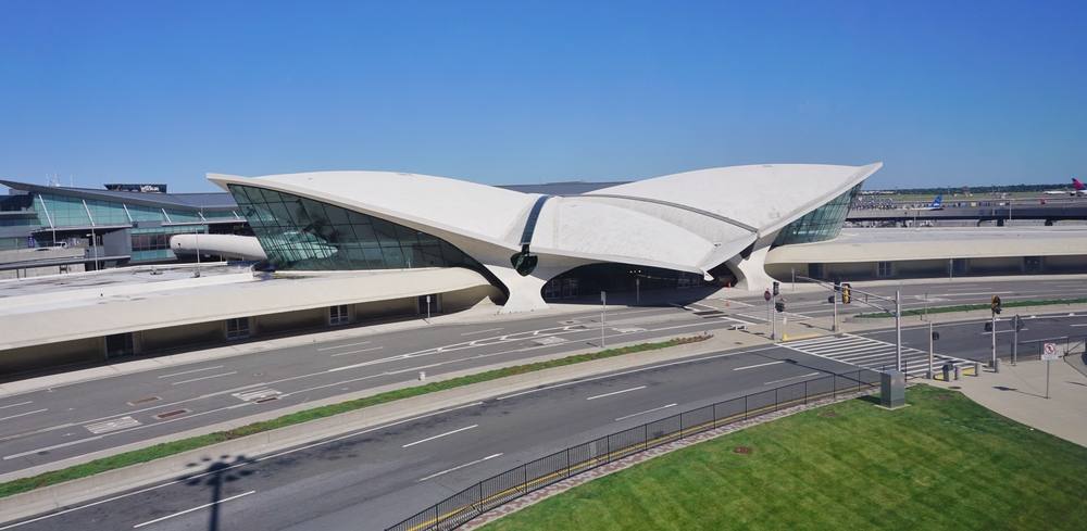 6. TWA Flight Center, JFK Airport, NYC