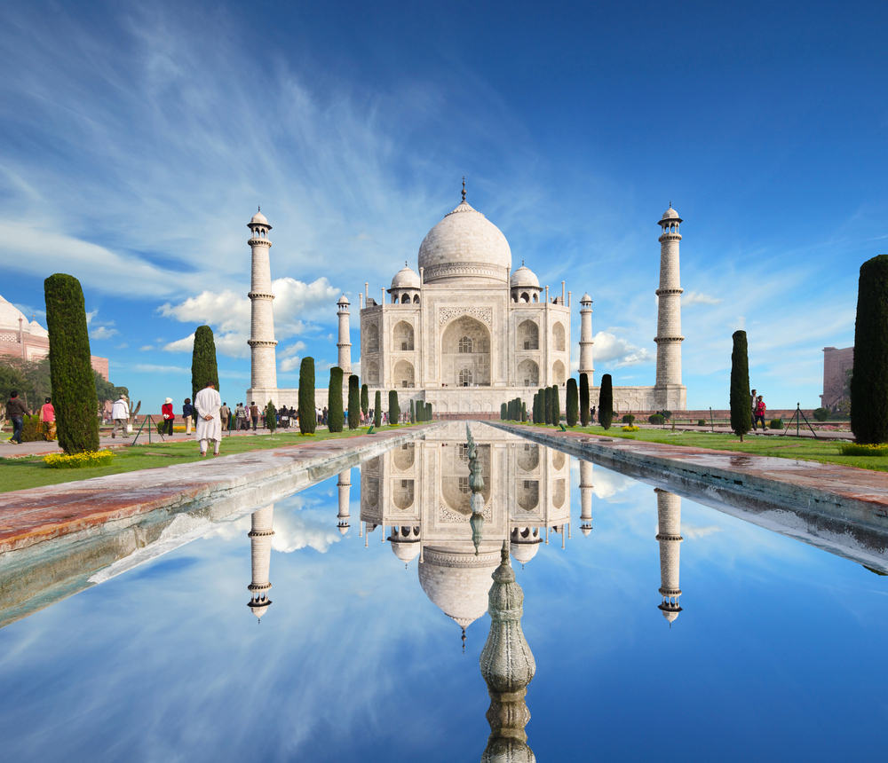 8. The Taj Mahal