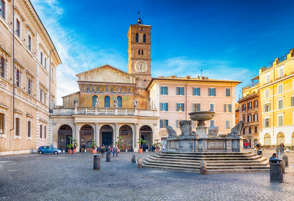 10. Santa Maria in Trastevere