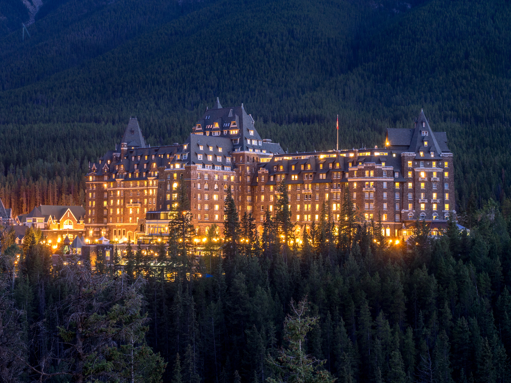 14. The Banff Springs Hotel, Alberta, Canada