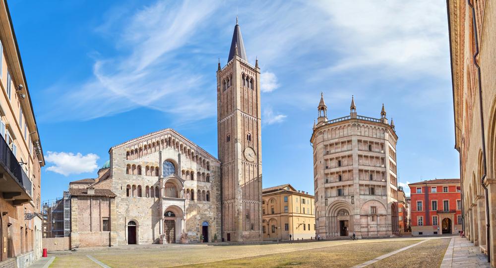 2. Battistera and Duomo, Parma