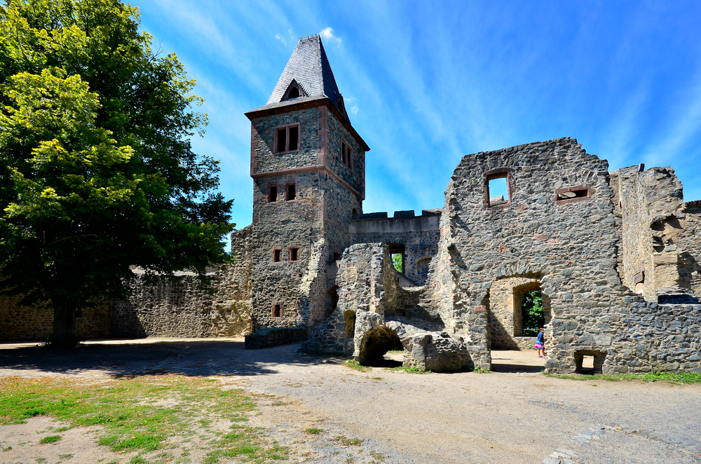 20. Castle Frankenstein, Odenwald, Germany
