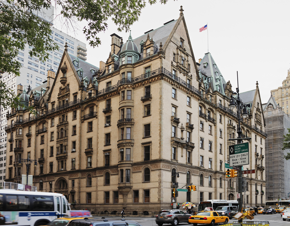 22. The Dakota Building, Manhattan, New York City