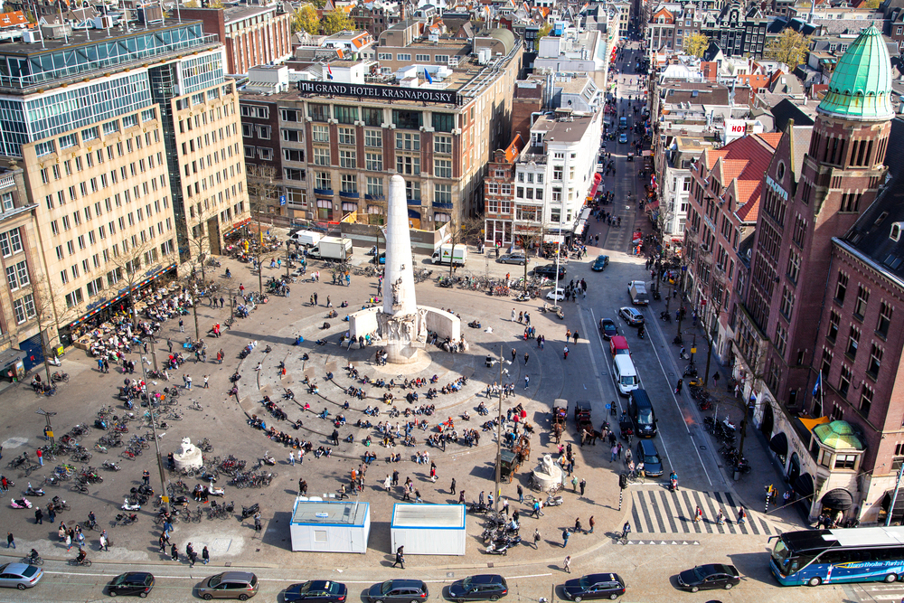 28. Dam Square, Amsterdam, The Netherlands