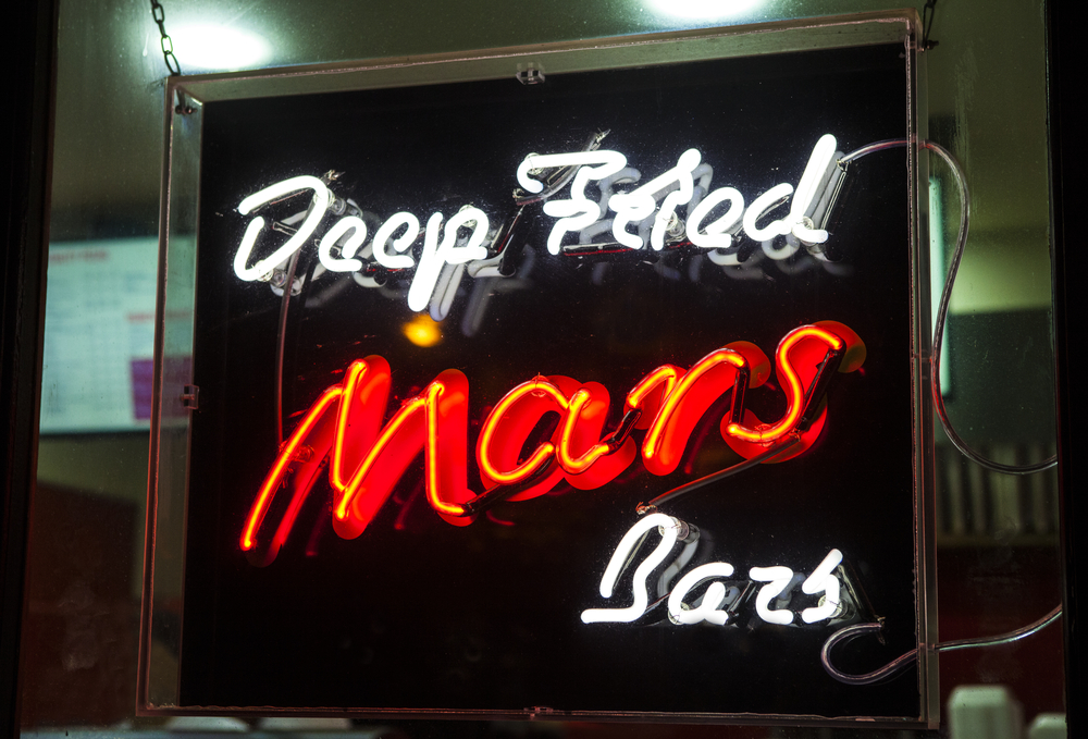 2. Deep Fried Mars Bar, Scotland