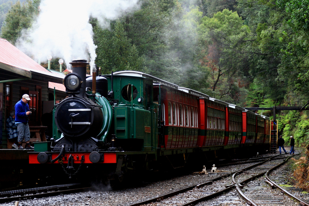 20. The West Coast Wilderness Railway, Tasmania