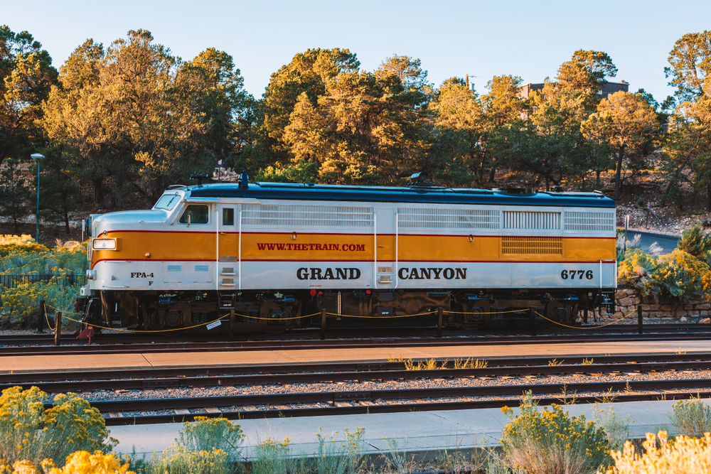 26. Grand Canyon Railway, Arizona