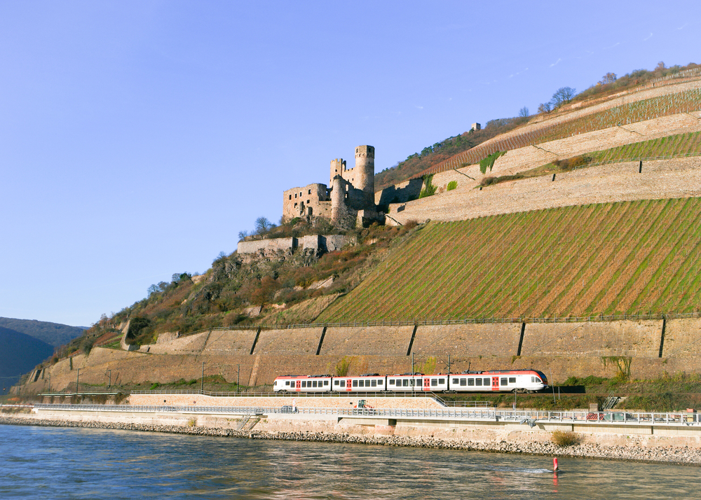 29. Koblenz to Mainz. Rhine Valley, Germany