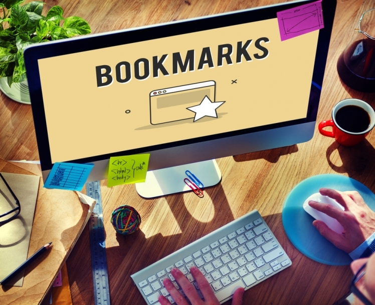 7. Bookmark the sites of your favorite brands